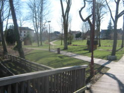 Jardin de l'hôpital