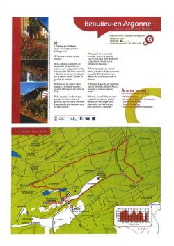 circuit pédestre Beaulieu 8 km